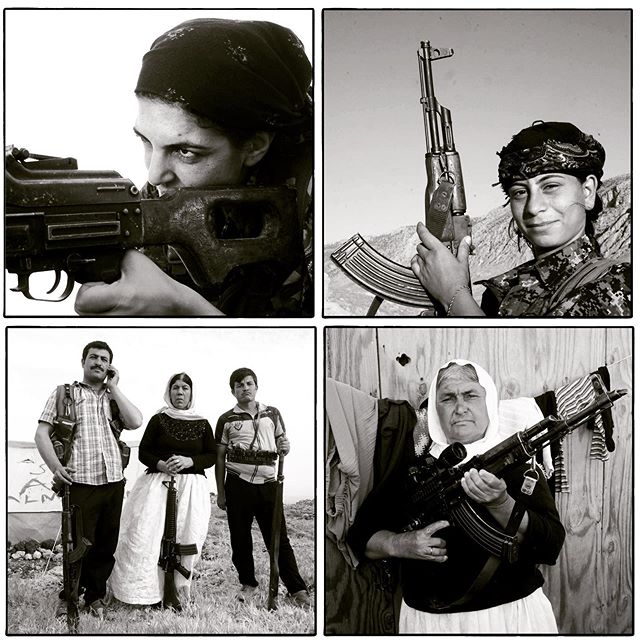 مقاومت زنان ایزدی در عکسهای آلفرد یعقوبزاده