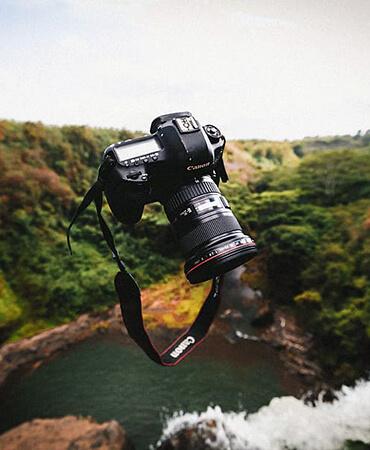 آشنایی با دوربین های کنون